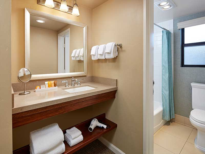 QQ Bay View Room bathroom