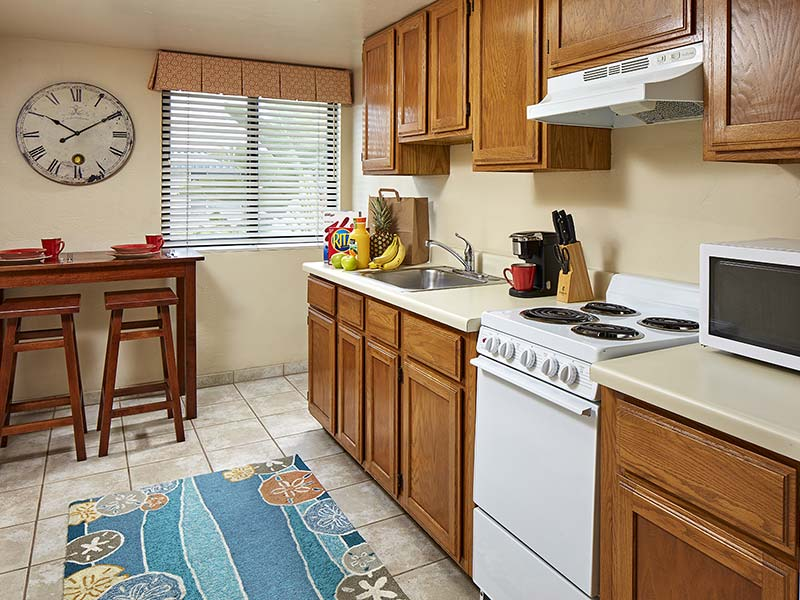 two bedroom suite kitchen