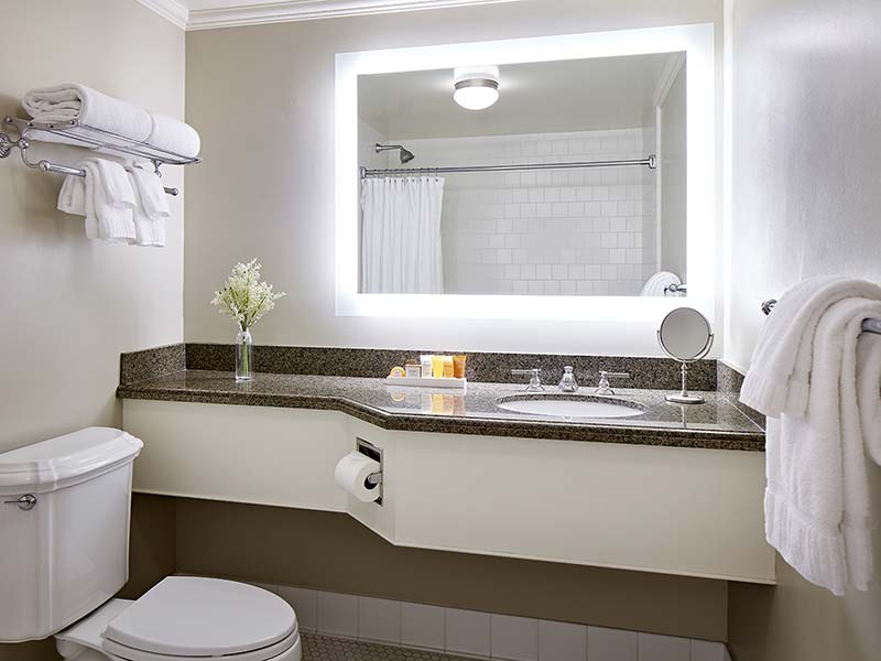 Sugar Brown room bathroom